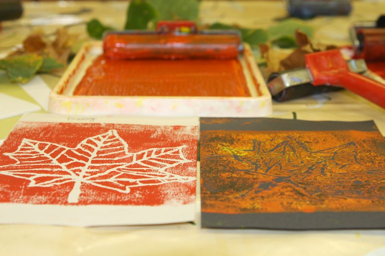 Cardfields Block Printing Art